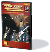ZZ Top Guitar Play-Along DVD