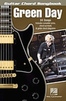 Green Day - Guitar Chord Songbook
