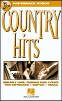 Country Hits, Second Edition - Paperback Songs