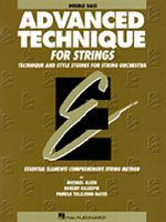 Advanced Technique for Strings - Double Bass