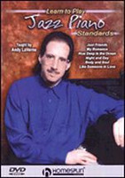 Learn To Play Jazz Standards DVD