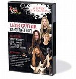 Lead Guitar Domination - 4 DVDs with over 70 lessons