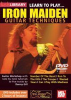 Learn to Play...Iron Maiden Guitar Techniques DVD