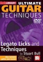 Ultimate Guitar Techniques: Legato Licks and Techniques DVD