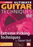 Ultimate Guitar Techniques: Extreme Picking Techniques DVD