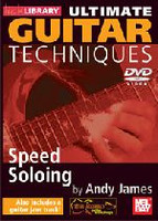 Ultimate Guitar Techniques: Speed Soloing DVD
