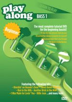 Playalong DVD - Learn To Play Bass 1