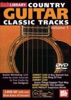 Country Guitar Classic Tracks, Volume 1, 2 DVD'S