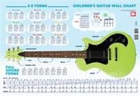 Children's Guitar Wall Chart