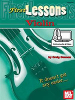 First Lessons Violin - Book & Online Audio
