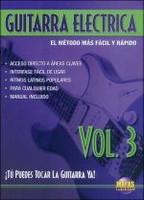 """T""""""""º Puedes Tocar La Guitarra Ya! Guitarra Electrica 3 DVD"""