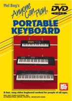 Anyone Can Play Portable Keyboard DVD