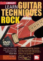 Learn Guitar Techniques: Rock DVD
