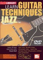 Learn Guitar Techniques: Jazz DVD