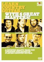 Learn Country Guitar With 6 Great Masters DVD