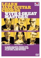 Learn Jazz Guitar Chords With 6 Great Masters DVD
