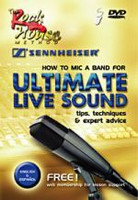 How to Mic a Band for Ultimate Live Sound DVD