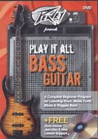 Peavey Presents Play It All On Bass Guitar DVD