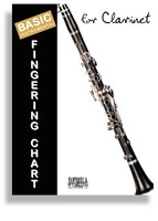 Basic Fingering Chart for Clarinet