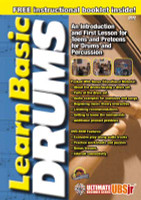 Learn Basic Drum - Ultimate Beginner Series Junior DVD