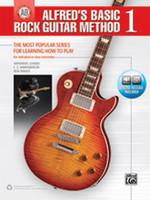 Alfred's Basic Rock Guitar Method 1 - Book & Online Audio