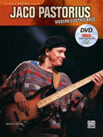 Jaco Pastorius: Modern Electric Bass - Book, DVD & Online Video