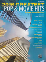 2016 Greatest Pop & Movie Hits - Big Note Piano