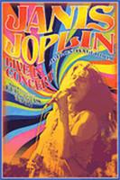 Janis Joplin Concert - Wall Poster