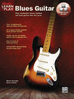 Alfred's Learn to Play Blues Guitar - Book & Online Media