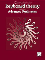 Keyboard Theory - Advanced Rudiments 2nd Edition  TVT03