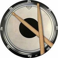 Mouse Pad Drum Practice Pad