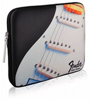Fender iPad Protective Zippered Black Strat Sleeve