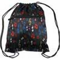 Satin Sling Bag with Multi-Color Notes