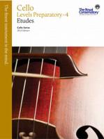 Cello Levels Preparatory - 4  Etudes VCS1
