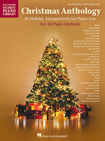 Christmas Anthology - Late Elementary to Intermediate Level Piano Solos