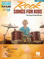 Rock Songs for Kids Drum Play-Along