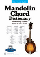 Mandolin Chord Dictionary - Mini Music Guides