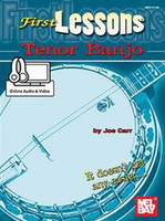 First Lessons Tenor Banjo - Book + Online Audio/Video