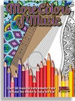 More Colors of Music: Middle School to Adult Coloring Book