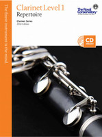 Clarinet Repertoire 1 2014 Edition WC1