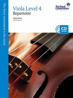 Viola Level 4 Repertoire, Viola Series, 2013 Edition VA4