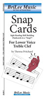 SnapCards for Lower Voice Treble Clef