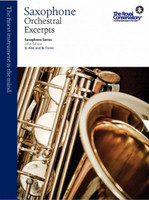 Saxophone Orchestral Excerpts, Saxophone Series, 2014 Edition WSE1