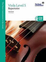Viola Level 5 Repertoire, Viola Series, 2013 Edition VA5