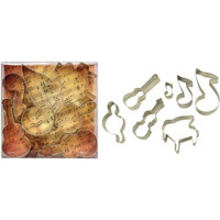 Musical Instrument Cookie Cutters