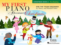 My First Piano Adventure® Christmas – Book A  Pre-Reading