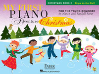 My First Piano Adventure® Christmas – Book C Skips on the Staff
