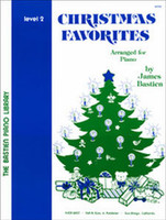 Bastien Piano Library: Christmas Favorites, Level 2