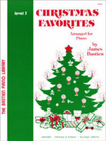 Bastien Piano Library: Christmas Favorites, Level 3