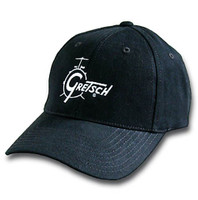 Gretsch - Black Classic Drum Logo Baseball Hat
